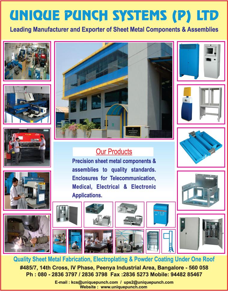 UNIQUE PUNCH SYSTEMS PVT LTD